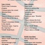 March Madness Drinking Game