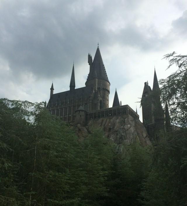 Hogwarts View at Harry Potter World