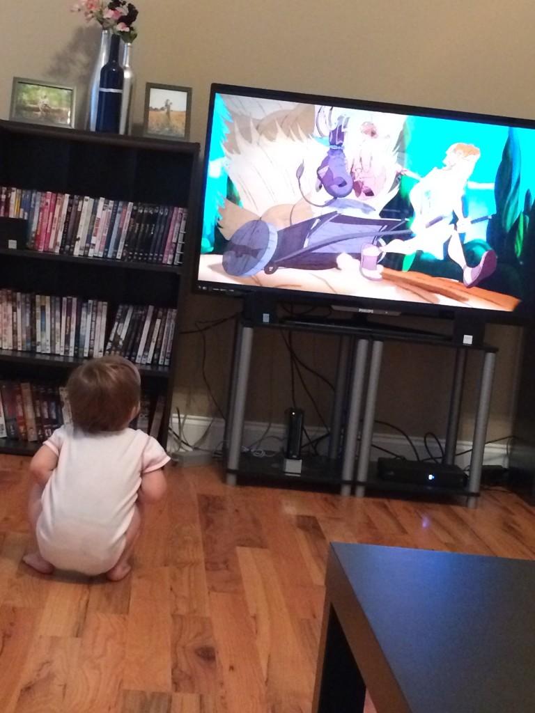 Levi watching Hercules