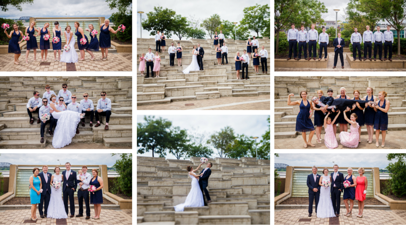 #JKRoush Wedding pictures at the Muhammad Ali Center.