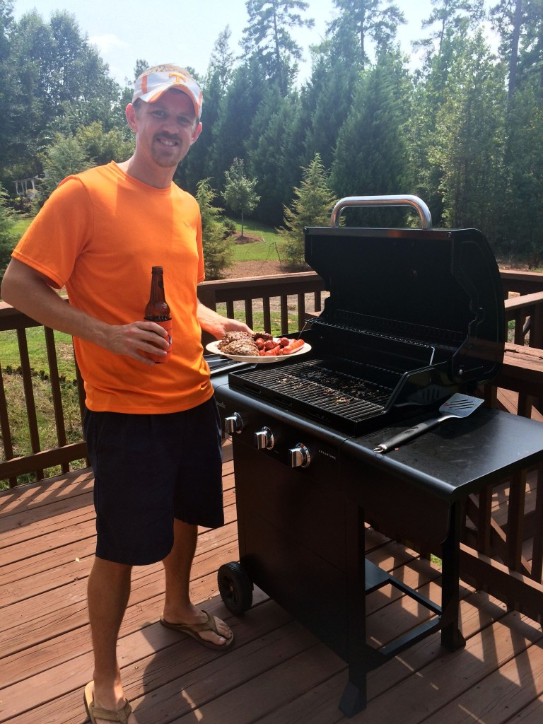 The Professor on the Grill