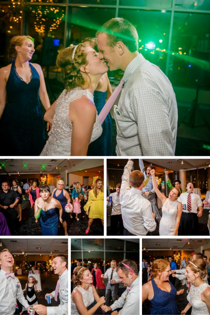 #JKRoush Reception Dancing