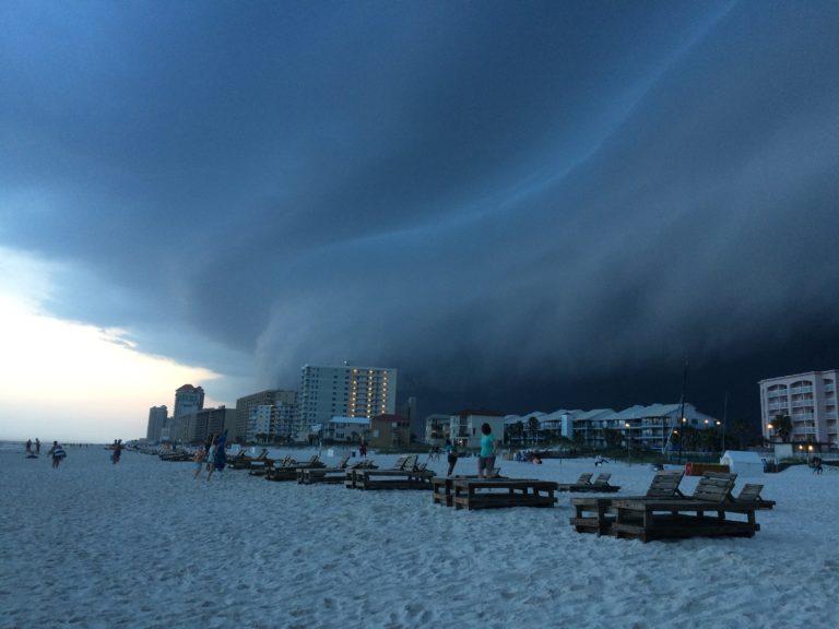Orange Beach Storm